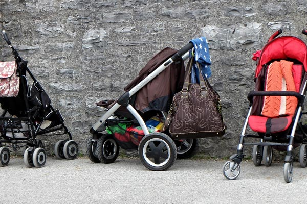 You can hire equipment such as buggies and bottle warmers from Alpine Nanny, Zermatt